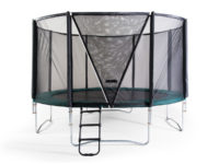 Studsmatta Bounce med skyddsnät HD