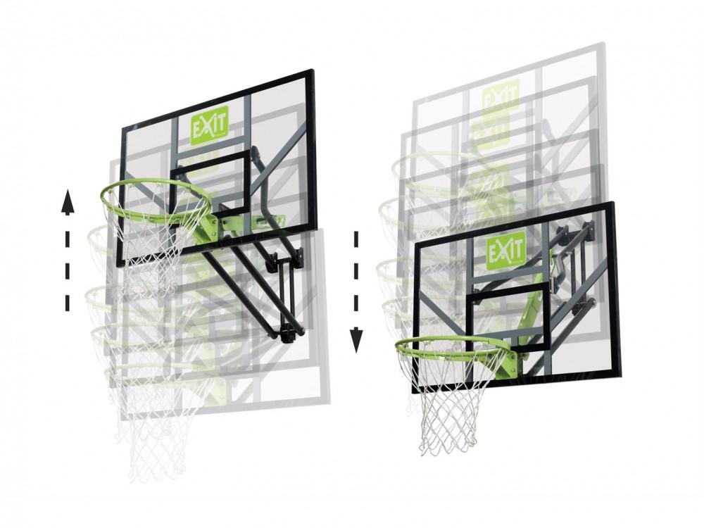 Basketkorg i ställning eller på väggen - Trampolinspecialisten bd1c8c8e3c437