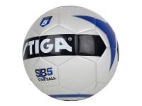 Fotboll vit storlek fem