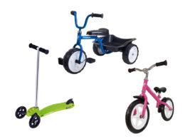 Kickbikes och roadracers för de mindre