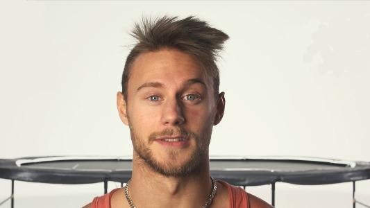 Jonas Nordfors i Trampolinspecialistens hoppskola