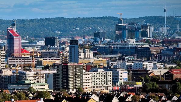 Stadsbild Göteborg