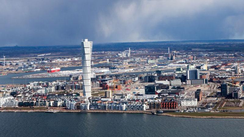 Bild Malmö västra hamnen