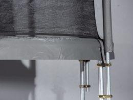 Orbit Luna detaljbild ram kantskydd och skyddsnät