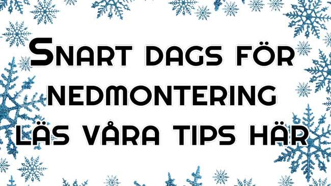 Länk till tips för nedmontering av studsmatta
